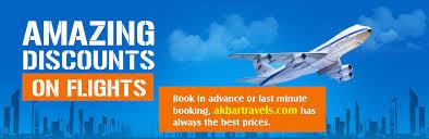 flight tickets cheap airline tickets at akbar travels