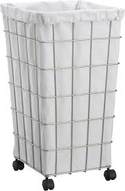 Square Laundry Hamper by Vintage Industrial Laundry Basket On Wheels Ideas 2992 Latest