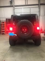 Jeep Wrangler Waterproof Interior Delta Wrangler Waterproof Rear Tire Mount Led Third Brake Light
