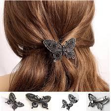 butterfly hair clip aliexpress buy fashion butterfly hair clip for women