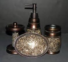 oil rubbed bronze bathroom accessories sets luxury bath accessory