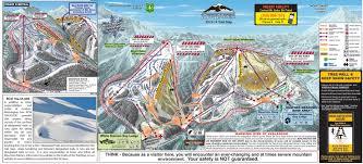 Big Sky Montana Trail Map by Mt Baker Ski Resort Mt Baker Skiing Review