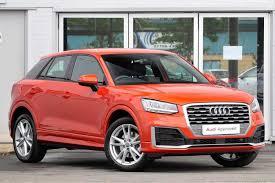 Audi Q5 8040 - used audi q2 s line orange cars for sale motors co uk