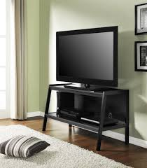 furniture interesting corner cymax tv stands with cozy wood tile