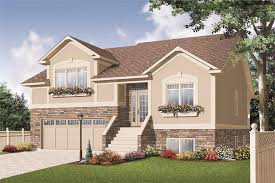split level front porch designs multi level home plan 3 bedrms 2 baths 2734 sq ft 126 1146