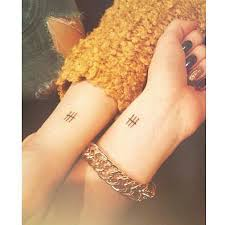 three parallel line tattoo meaning small tattoos with meaning