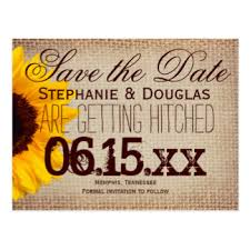 rustic save the date postcards zazzle