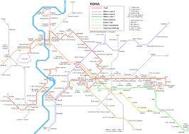 Rome Italy Map Urbanrail Net U003e Europe U003e Italy U003e Roma Tram
