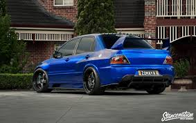 mitsubishi modified wallpaper download 1920x1213 mitsubishi lancer evo ix blue cars sedan