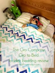 Grobag Zip Duvet The Gro Company Gro To Bed Toddler Bedding Review Cardiff Mummy
