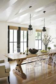 Contemporary Dining Room Table by Dining Room Rustic Modern Chairs Talkfremont