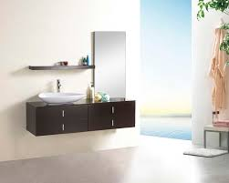 modern bathroom vanity with ultra contemporary basin with modern