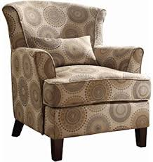 Brown Accent Chair Coaster Home Furnishings Modern Transitional