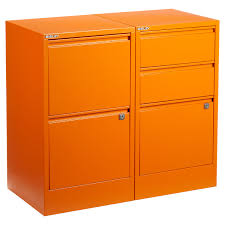 three drawer locking file cabinet bisley orange 2 3 drawer locking filing cabinets the container