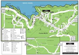 Devon England Map by Map U2013 Visit Combe Martin Holidays And Accommodation By The Sea