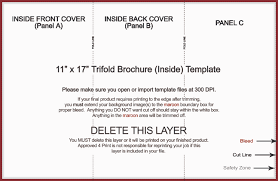 11x17 brochure template index of product templates 11x17 trifold