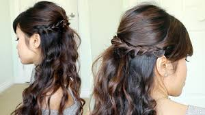 prom hairstyle half up half down hairstyle picture magz