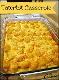 Fun Breakfast For Dinner Ideas Tater Tot Casserole Food Fun Friday Mess For Less