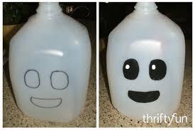 Halloween Decorations Using Milk Jugs - kids halloween craft ideas thriftyfun