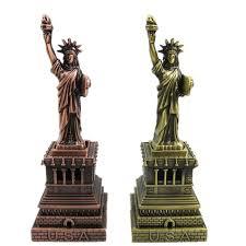 welding metal craft statue of liberty tourism souvenir crafts retro