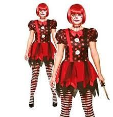 Ladies Halloween Costumes Uk Horror Clown Costume Ladies Halloween Fancy Dress Uk 6 20