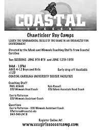 Ccu Campus Map Coastal Carolina Girls Soccer Camp Llc