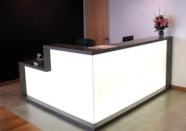 L Shape Reception Desk Angles For Reception Desk In New Idt Building Furniture L Shaped