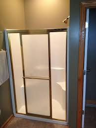 Bathroom Stall Doors Shower Home Depot Kits Diy One Piece Stalls Ideas Wonderful And