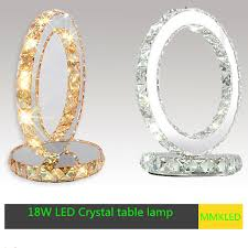 Small Crystal Table Lamp Aliexpress Com Buy Led Crystal Table Lamp Modern Minimalist