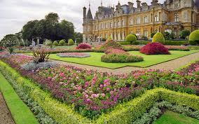 waddesdon manor gardens national trust buckinghamshire uk
