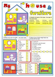 house worksheets the house song and worksheet teaching english