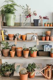 object of desire wooden ladder bookshelf for plants gardenista