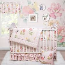 Pink Floral Crib Bedding Brandream Butterfly Baby Bedding Pink Floral Crib Bedding