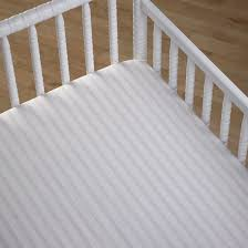 Fitted Sheets Cocalo Stripe Cot Fitted Sheets Babyroad