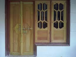 Single Door Design by Main Entrance Double Door In Jack Wood U2013 With Two Column Window