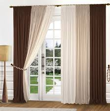White And Brown Curtains Brown Curtains With Design Lime Green Flowers White Turquoise