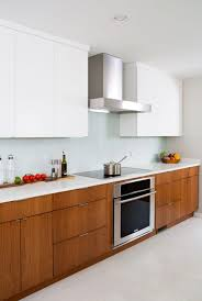 modern kitchen with cherry wood cabinets white and cherry wood contemporary kitchen cabinets