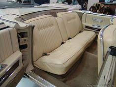 1964 Lincoln Continental Interior 1962 Lincoln Continental Leather Interior Shown In Turquoise