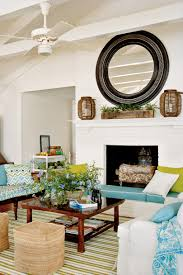 lake home interiors casual chic lake house southern living