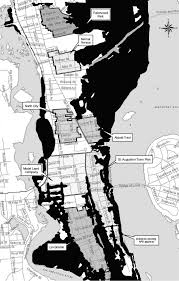 Rap Map Threat Of Sea Level Rise Impacts On Historic St Augustine
