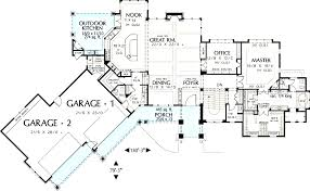 large home floor plans large house plan big garage sketch home office floor plans