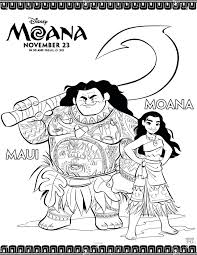 moana coloring sheets and activities donnahup com