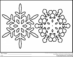 beautiful winter coloring pages with snowflake coloring page