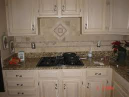 tiles backsplash backplash ideas finished cabinet doors granite