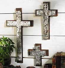 wall crosses iron wall crosses