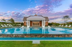 pool house my hampton homes southampton real estate