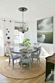 Coastal Dining Room Makeover Sand And Sisal - Dining room makeover