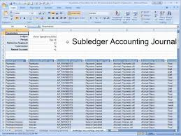 Accrual Accounting Excel Template The Payables Reconciliation Demonstration Spreadsheet