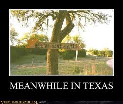 Texas Meme - meanwhile in texas very demotivational demotivational posters