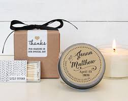 candles and favors candle wedding favor etsy